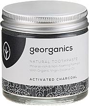 Naturalna pasta do zębów - Georganics Activated Charcoal Natural Toothpaste — фото N2
