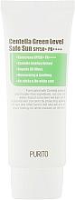 Kup Krem przeciwsłoneczny do twarzy z wąkrotą azjatycką - Purito Centella Green Level Safe Sun SPF50