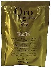 Kup PRZECENA! Rozjaśniający puder z keratyną do włosów - Fanola Oro Therapy Color Keratin (sachets) *