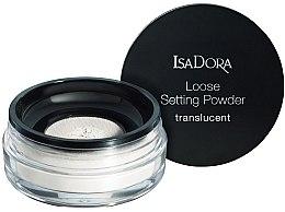 Kup Transparentny sypki puder do twarzy - IsaDora Loose Setting Powder Translucent