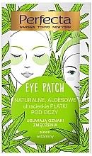 Kup Płatki pod oczy przeciw oznakom zmęczenia - Perfecta Eye Patch Aloe & Vitamins
