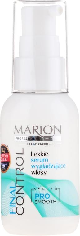 Lekkie serum wygładzające włosy - Marion Final Control