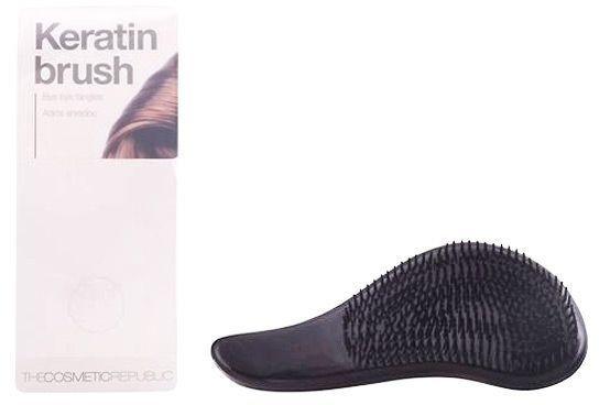 Szczotka z keratyną do włosów - The Cosmetic Republic Keratin Brush — фото N1