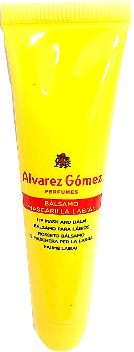 Alvarez Gomez Agua De Colonia Concentrada Lip Mask & Balm - Balsam do ust — фото N1
