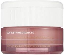 Nawilżający krem z granatem do skóry tłustej i mieszanej - Korres Pomegranate Moisturising & Balancing Cream-Gel Oily-Combination Skin — фото N2