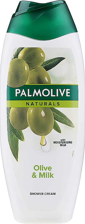 Kremowy żel pod prysznic Oliwka i mleczko nawilżające - Palmolive Naturals Ultra Moisturization Creamy Shower Gel With Olive And Moisturising Milk