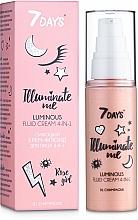 Kup Rozświetlający podkład 4 w 1 - 7 Days Illuminate Me Luminous Fluid Cream 4in1
