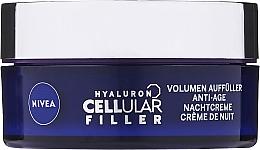 Kup Przeciwzmarszczkowy krem modelujący do twarzy na noc - Nivea Hyaluron Cellular