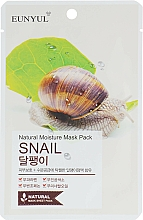 Kup Maska na tkaninie do twarzy ze śluzem ślimaka - Eunyul Natural Moisture Mask Pack