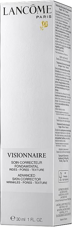Przeciwstarzeniowe serum do twarzy - Lancome Visionnaire Advanced Skin Corrector — фото N2