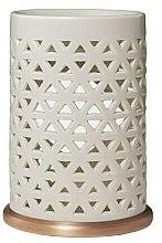 Kup Ceramiczny kominek do wosków zapachowych, kremowy - Yankee Candle Belmont Punched Ceramic Wax Melt Burner