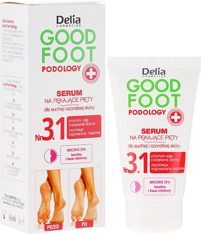 Serum na pękające pięty - Delia Good Foot Podology
