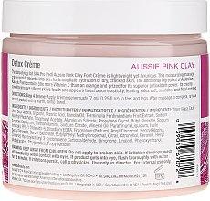 Krem do rąk i stóp z różową glinką - IBD Aussie Pink Clay Detox Creme  — фото N2