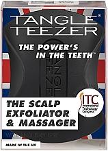 Kup Złuszczająca szczotka do skóry głowy - Tangle Teezer The Scalp Exfoliator & Massager Onyx Black