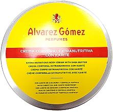 Kup Alvarez Gomez Agua De Colonia Concentrada Crema de Karite Corporal - Krem do ciała