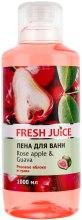 Kup Płyn do kąpieli Różowe jabłko i guawa - Fresh Juice Rose Apple and Guava