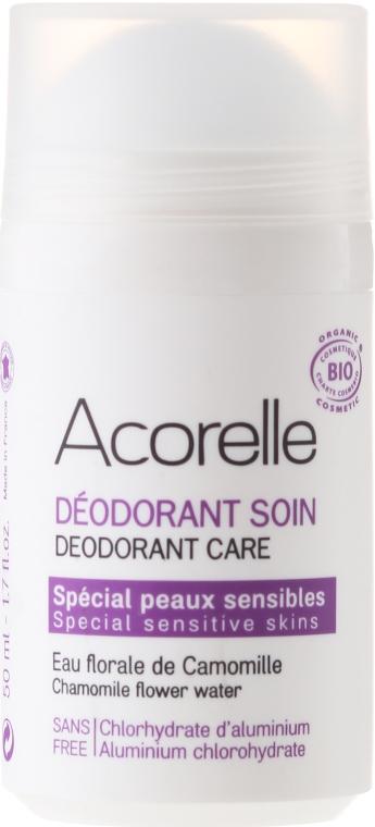 Mineralny dezodorant orzeźwiający Rumianek - Acorelle Deodorant Care — фото N1