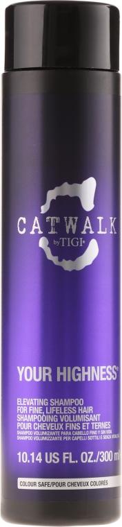 Szampon zwiększający objętość włosów - Tigi Catwalk Your Highness Elevating Shampoo