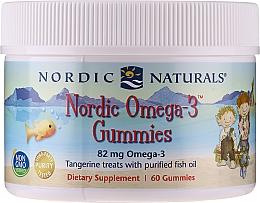 Kup Suplement diety dla dzieci o smaku mandarynki Omega 3, 82 mg - Nordic Naturals Gummy