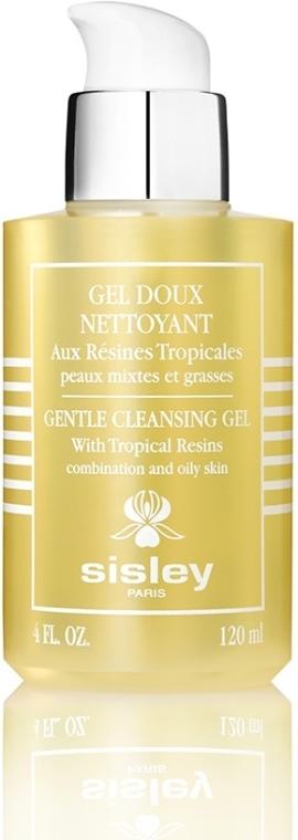 Delikatny żel oczyszczający do twarzy do cery tłustej i mieszanej - Sisley Gel Doux Nettoyant aux Résines Tropicales — фото N1