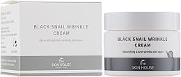 Kup Odżywczy krem z kolagenem i śluzem ślimaka - The Skin House Black Snail Wrinkle Cream