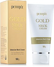 Kup Krem na szyję i dekolt ze złotem - Petitfee & Koelf Gold Neck Cream
