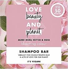 Kup Szampon w kostce do włosów farbowanych Masło murumuru i róża - Love Beauty And Planet Murumuru Nut And Rose Shampoo