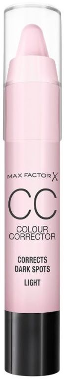 Korektor w kredce do twarzy na plamy pigmentacyjne - Max Factor CC Colour Corrector Corrects Dark Spots Light