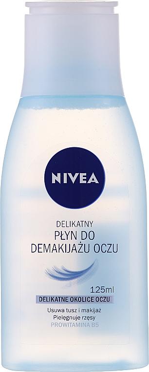 Delikatny płyn do demakijażu oczu - Nivea Visage Eye Makeup Remover Lotion