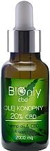 Kup Olej konopny 20% CBD - BIOnly