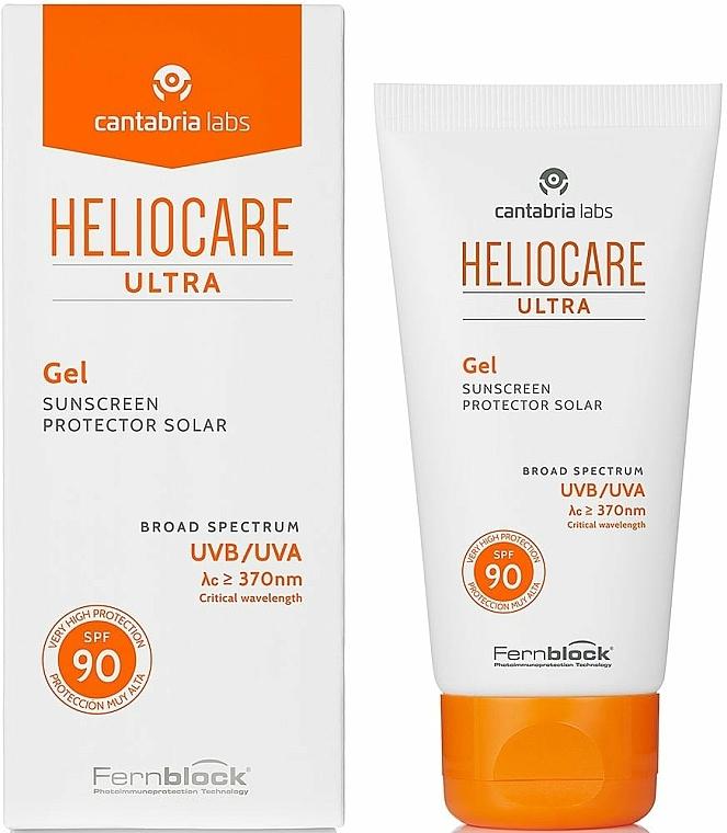 Krem ochronny przeciwsłoneczny, SPF90 - Cantabria Labs Heliocare Ultra Cream SPF 90 — фото N1