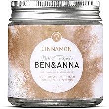Kup Naturalny odświeżający proszek do zębów z cynamonem - Ben & Anna Toothpowder Cinnamon