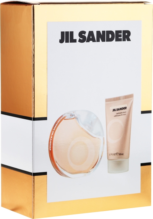 Jil Sander Sensations - Zestaw (edt/40 ml + b/cr/50 ml)