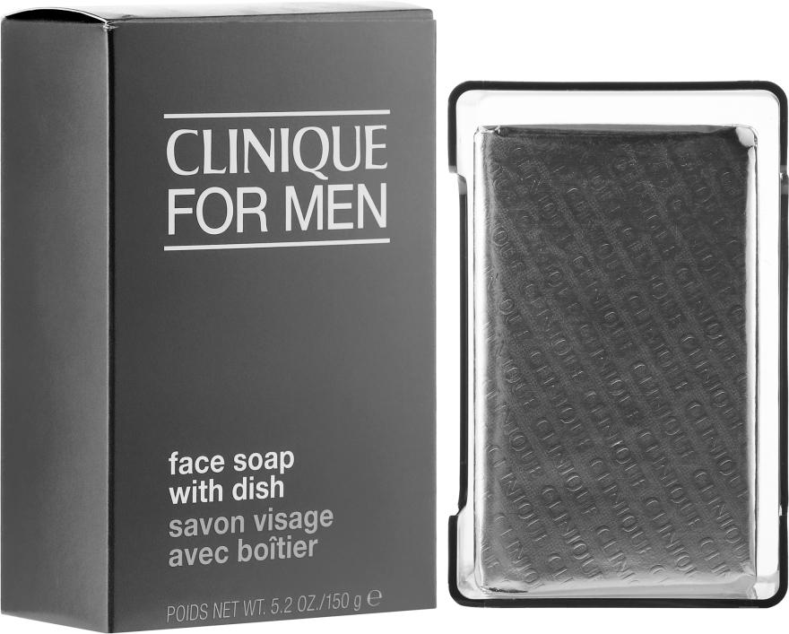 Mydło oczyszczające dla mężczyzn - Clinique For Men Face Soap With Dish