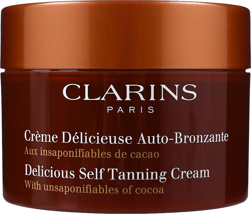 Samoopalający krem do twarzy i ciała - Clarins Delicious Self Tanning Cream