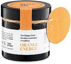 Kup Nawilżający krem do skóry normalnej i wrażliwej - Make Me Bio Orange Energy