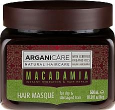 Kup Odżywcza maska regenerującado włosów suchych i zniszczonych - Arganicare Silk Macadamia Hair Mask