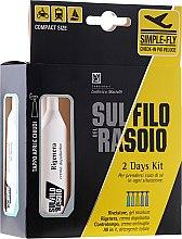 Kup Dwudniowy zestaw do golenia i oczyszczania twarzy - Proraso Sul Filo Del Rasoio 2 Days Kit (ash/gel 10 ml + ash/cr 10 ml + cr 10 ml + treat 2 x 10 ml)
