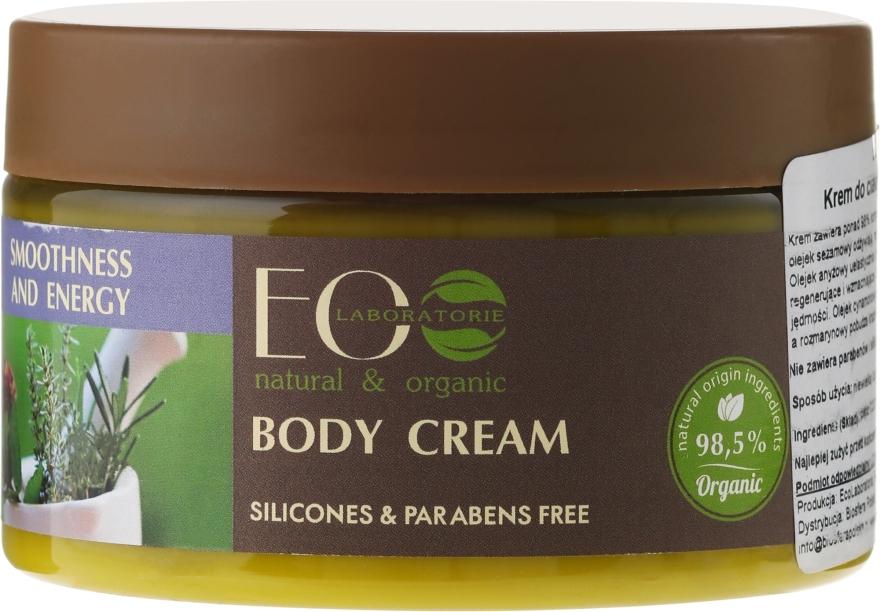 Krem do ciała Gładkość i ton - ECO Laboratorie Smoothness & Tonus Body Cream — фото N2