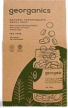 Kup Naturalne tabletki do mycia zębów Drzewo herbaciane - Georganics Natural Toothtablets Tea Tree (uzupełnienie)
