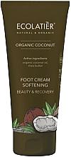 Kup Zmiękczający krem do stóp - Ecolatier Organic Coconut Foot Cream