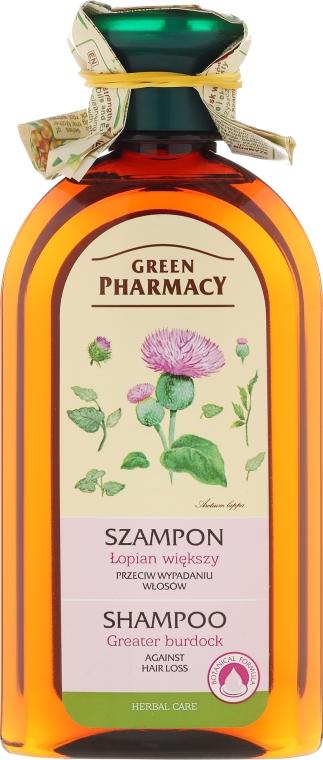 Szampon przeciw wypadaniu włosów Łopian większy - Green Pharmacy