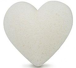 Kup Gąbka konjac do mycia twarzy, serce - Bebevisa Pure Konjac Sponge