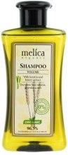 Kup Szampon z keratyną i ekstraktem z miodu dodający włosom objętości - Melica Organic Volume Shampoo