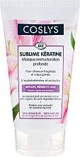 Kup Maska z organiczną lilią i keratyną do włosów osłabionych i niezdyscyplinowanych - Coslys Sublime Keratine Mask