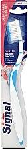 Kup Miękka szczoteczka do zębów, błękitna - Signal Slim Care Sensitive Soft