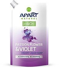 Kup Mydło w płynie Passiflora i fiołek - Apart Natural Passion Flower & Violet Soap (uzupełnienie)