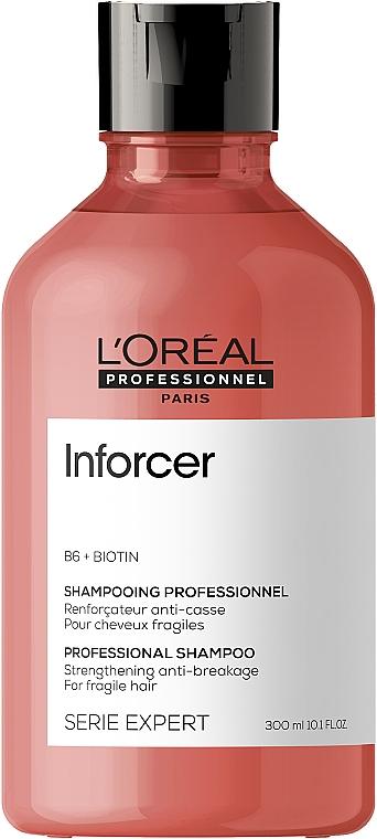 Wzmacniający szampon do włosów wrażliwych - L'Oreal Professionnel Inforcer Strengthening Anti-Breakage Shampoo