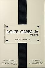 Kup Dolce & Gabbana The One - Zestaw (edt/50ml + edt/7.4ml)