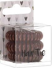 Kup Brązowe gumki do włosów - Cosmetic 2K Hair Tie Brown
